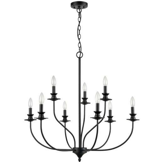 Antique Candle Chandeliers