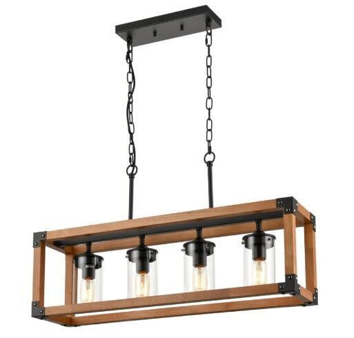 Experience with Rustic Wood Chandeliers