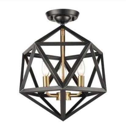 Geometric Metal Chandeliers