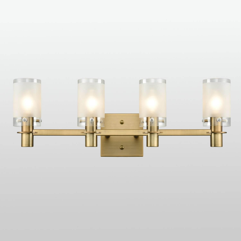 Modern Brass Bathroom Vanity Lighting