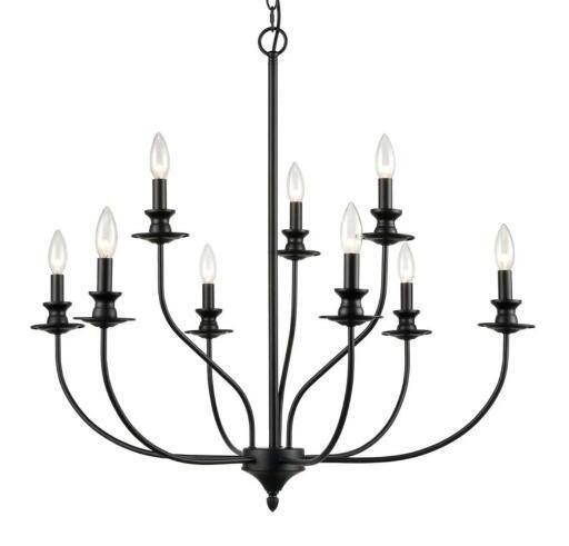 Vintage Yet Modern Edge with Candle Chandeliers