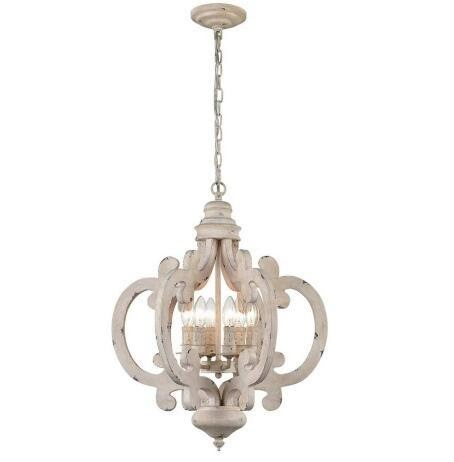 Wood Chandeliers for History Buffs